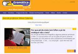 Gramática On-line