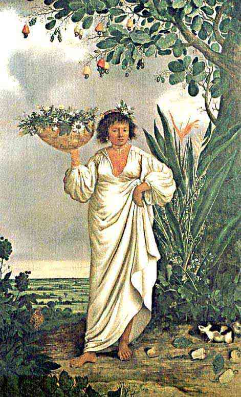 Albert Eckhout - Mulher Mameluca