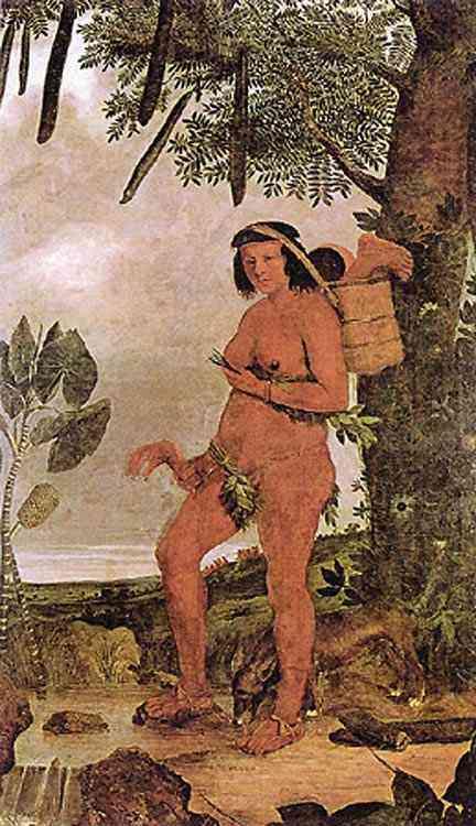 Albert Eckhout - Índia Tarairiu (Tapuia)