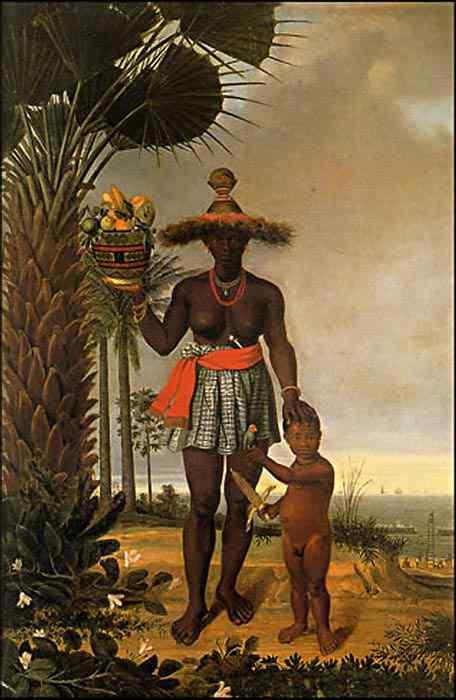 Albert Eckhout - Mulher Africana