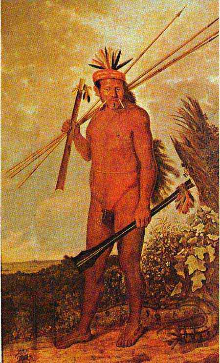 Albert Eckhout - Índio Tarairiu (Tapuia)
