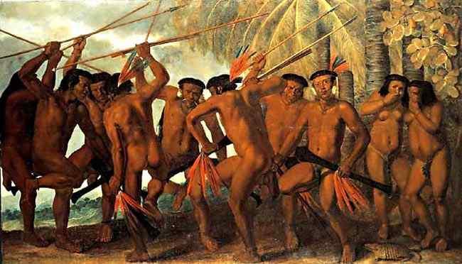 Albert Eckhout - Dança dos Tarairiu