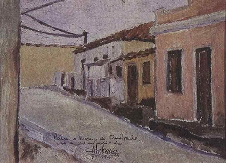 Aldemir Martins - Ladeira do curral