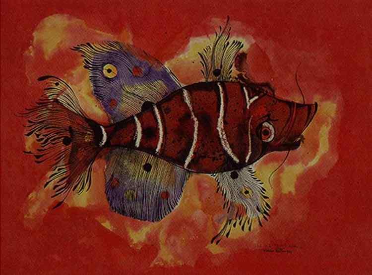 Aldemir Martins - Peixe-escorpião (ou Aranha)