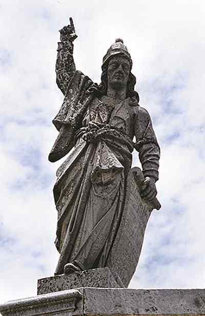 Antônio Francisco Lisboa Aleijadinho - Profeta Abdias