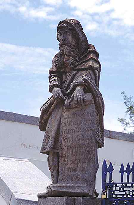 Antônio Francisco Lisboa Aleijadinho - Profeta Isaías