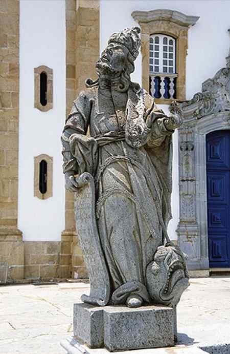 Antônio Francisco Lisboa Aleijadinho - Profeta Jonas