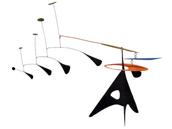 Alexander Calder - Pena azul