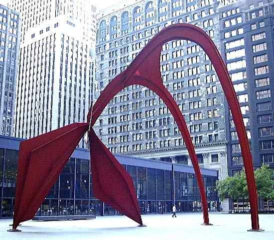 Alexander Calder - Flamingo