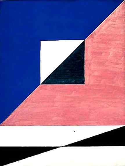 Alfredo Volpi - Composição com quadrado