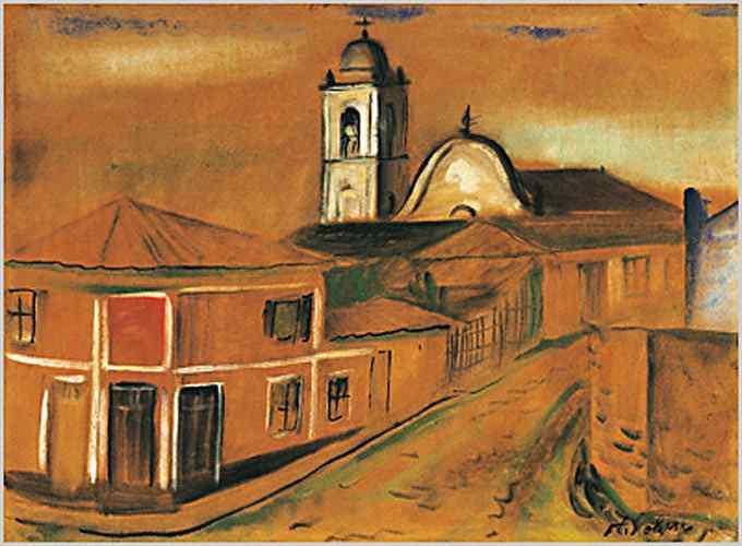 Alfredo Volpi - Matriz de Itanhaém