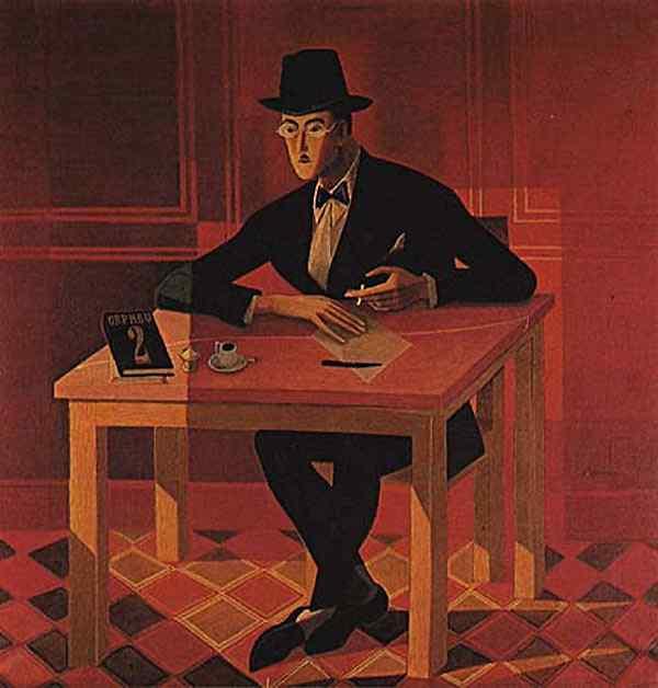 José Sobral de Almada Negreiros - Retrato de Fernando Pessoa
