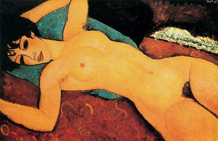Amedeo Modigliani - Nu deitado