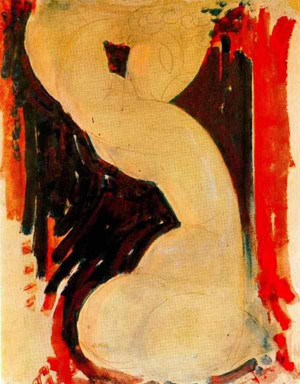 Amedeo Modigliani - Cariátide