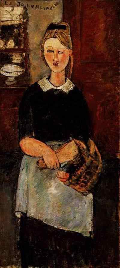 Amedeo Modigliani - A bonita dona-de-casa