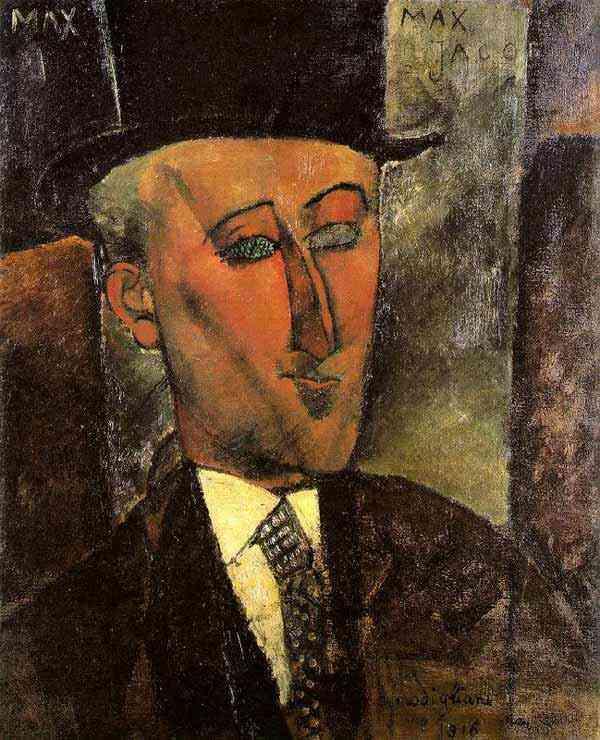 Amedeo Modigliani - Retrato de Max Jacob