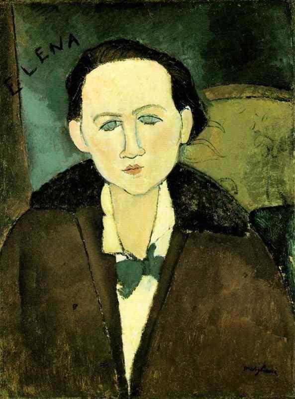 Amedeo Modigliani - Elena Pavlowski