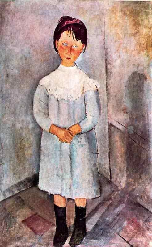 Amedeo Modigliani - Menina em azul
