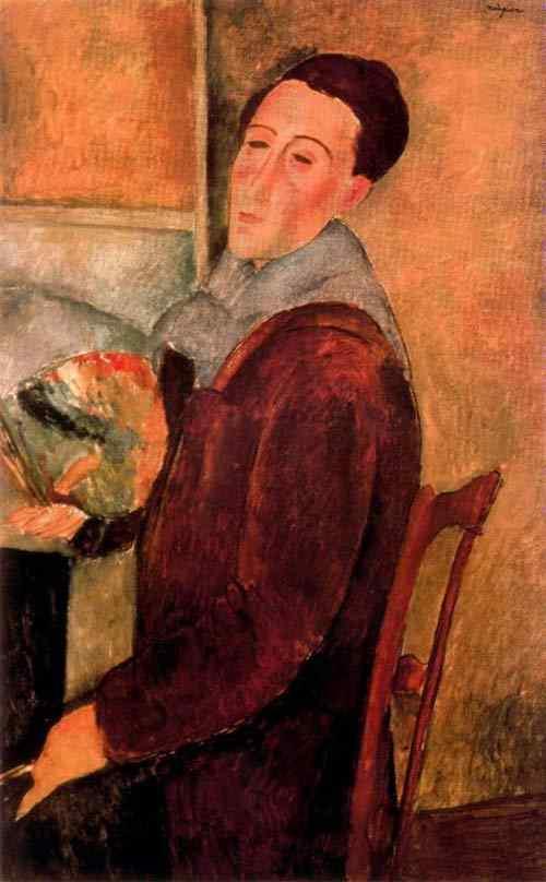 Amedeo Modigliani - Auto-retrato