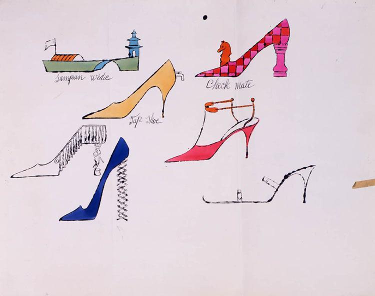 Andy Warhol - Sapatos Fantasia