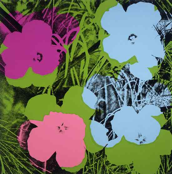 Andy Warhol - Flores