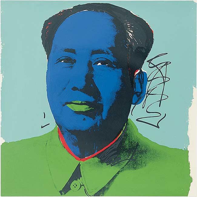 Andy Warhol - Mao Tsé-Tung