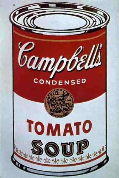 Andy Warhol - Lata de Sopa Campbell (tomate) - Série Retrospectiva