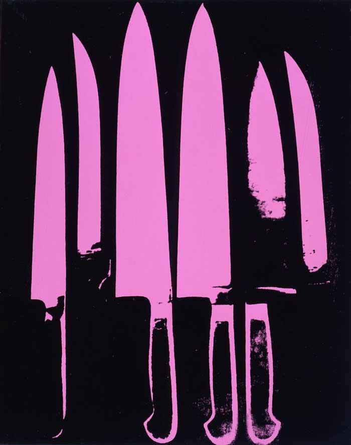 Andy Warhol - Facas
