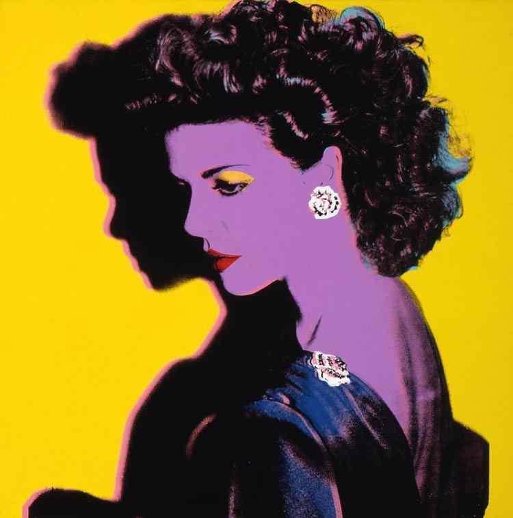 Andy Warhol - Princesa Caroline de Mônaco
