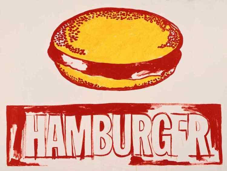 Andy Warhol - Hamburguer