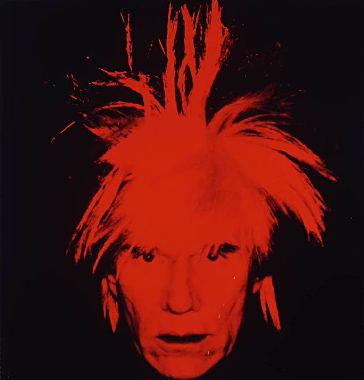 Andy Warhol - Auto-retrato