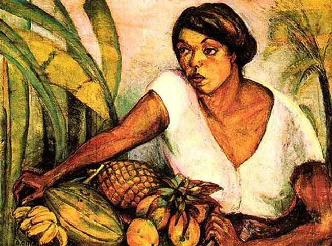 Anita Malfatti (Anita Catarina Malfatti) - Tropical