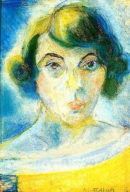 Anita Malfatti (Anita Catarina Malfatti) - Auto-retrato