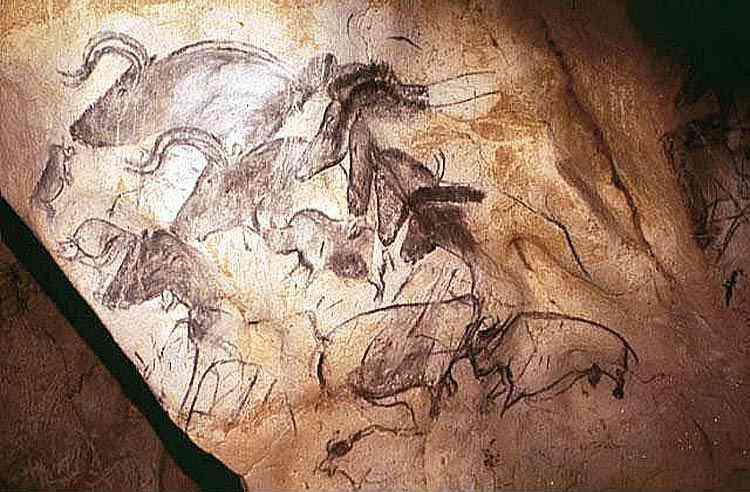 Arte pré-histórica - Animais diversos
