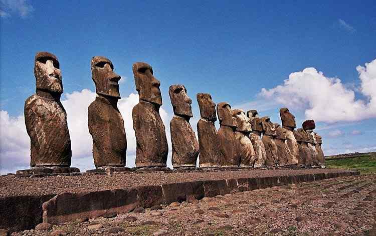 Arte pré-histórica - Bustos de pedra