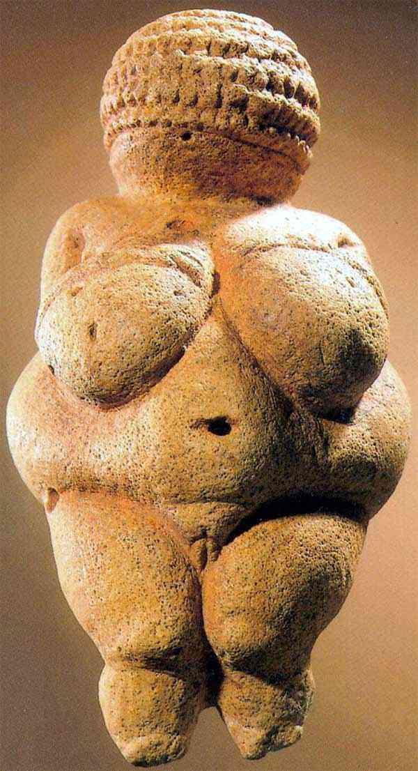 Arte pré-histórica - Vênus de Willendorf