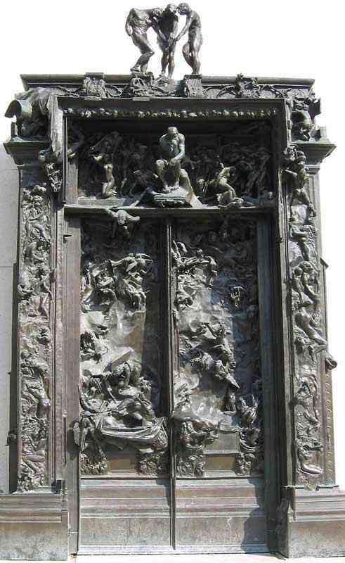Auguste (François-Auguste-René Rodin) Rodin - A porta do inferno