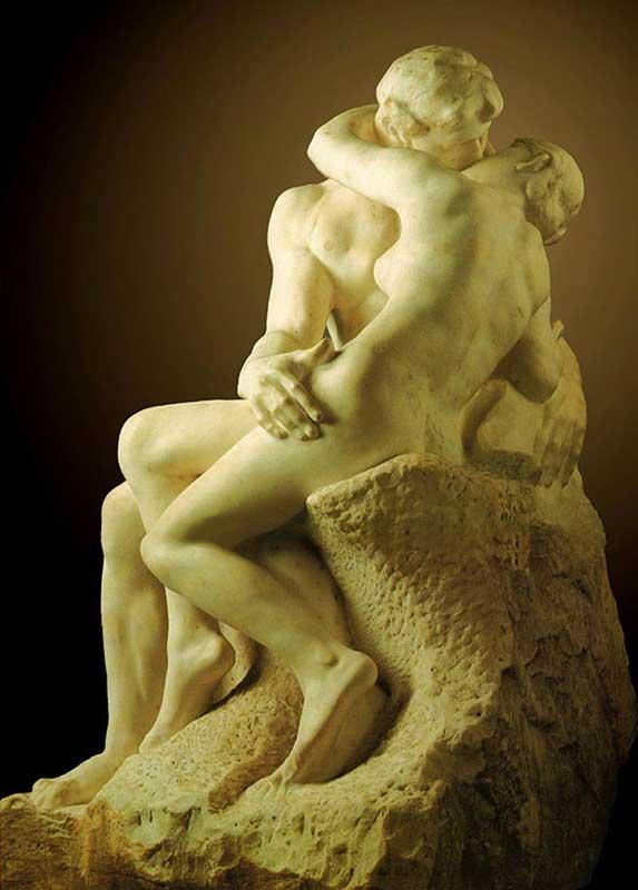 Auguste (François-Auguste-René Rodin) Rodin - O beijo