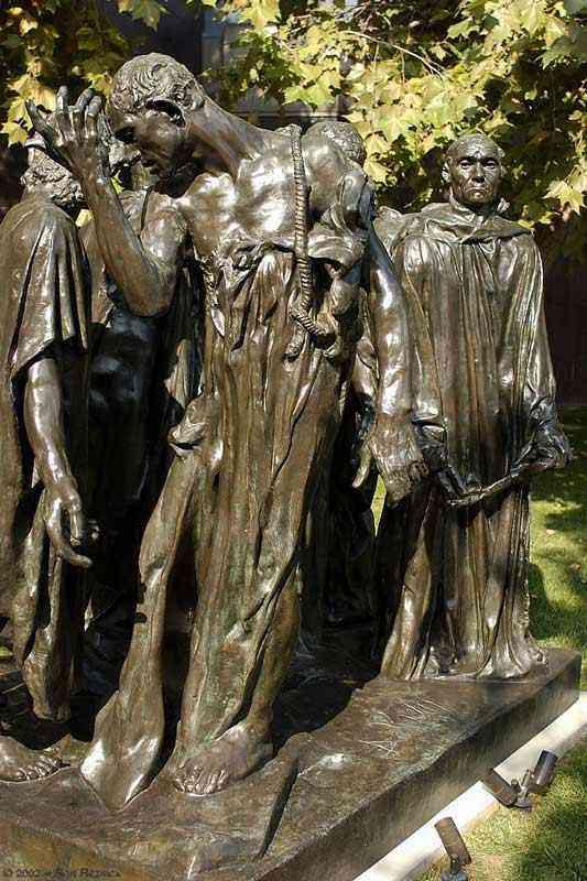 Auguste (François-Auguste-René Rodin) Rodin - Monumento aos burgueses de Calais