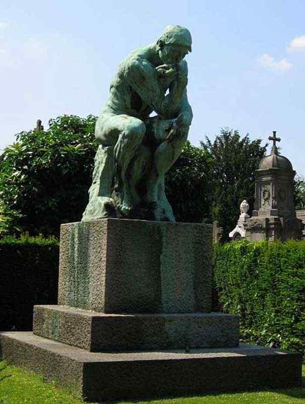 Auguste (François-Auguste-René Rodin) Rodin - O pensador (II)