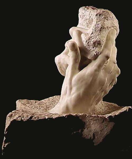 Auguste (François-Auguste-René Rodin) Rodin - A mão de Deus