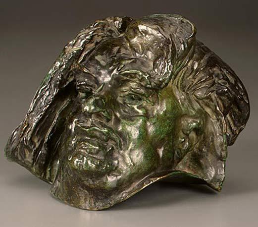 Auguste (François-Auguste-René Rodin) Rodin - Cabeça de Balzac