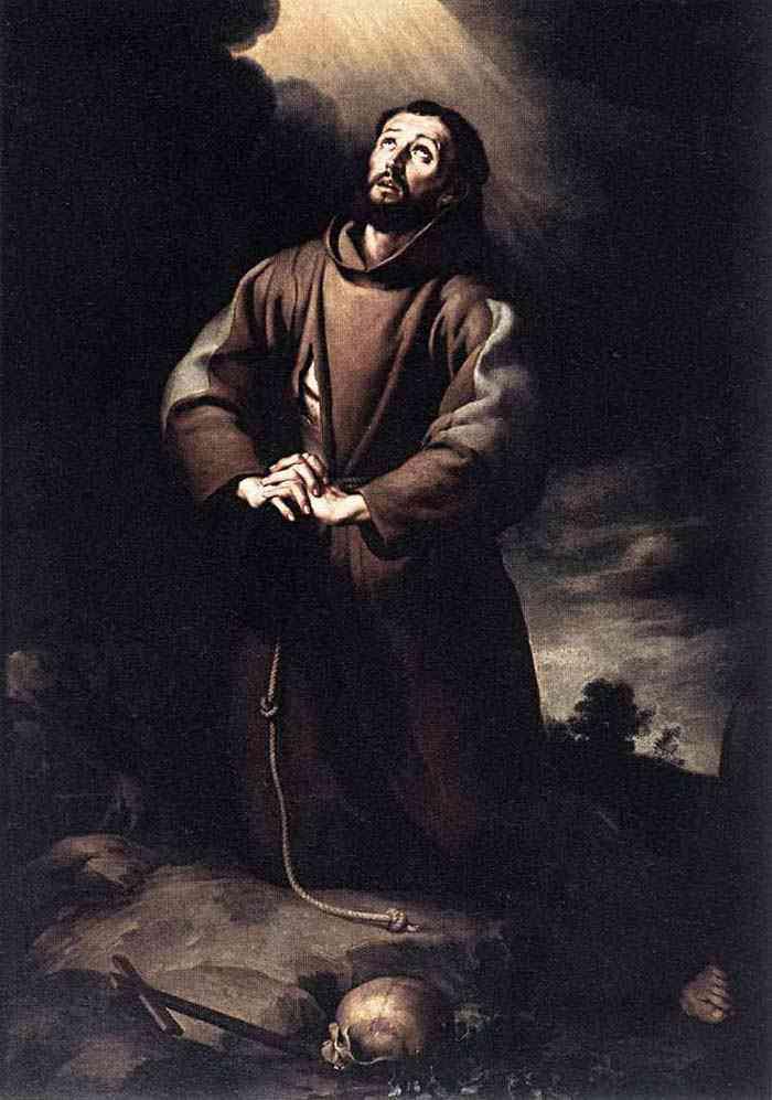 Bartolomé Esteban Murillo - São Francisco de Assis em oração
