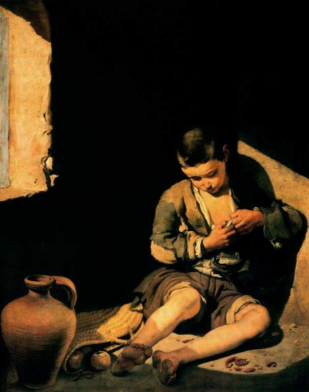 Bartolomé Esteban Murillo - O jovem mendigo