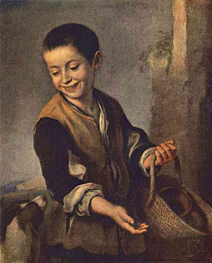 Bartolomé Esteban Murillo - Menino com um cachorro