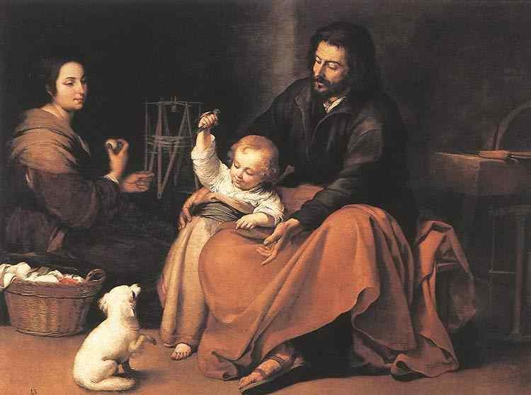 Bartolomé Esteban Murillo - A Sagrada Família