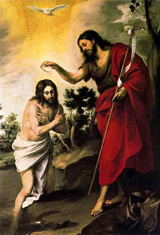 Bartolomé Esteban Murillo - O batismo de Cristo