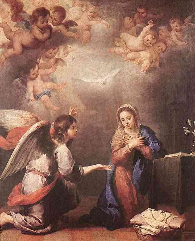 Bartolomé Esteban Murillo - Anunciação