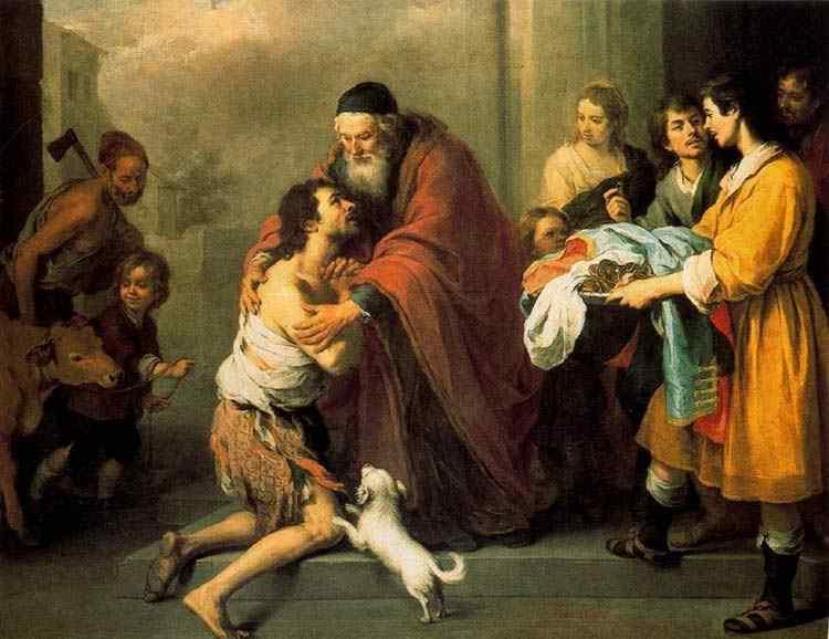 Bartolomé Esteban Murillo - O regresso do filho pródigo