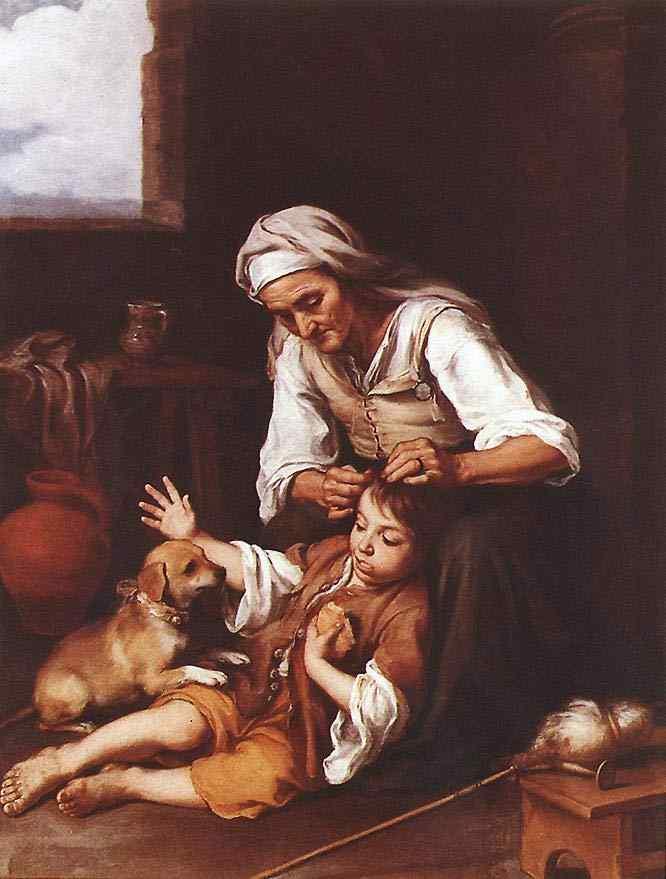 Bartolomé Esteban Murillo - A toilette